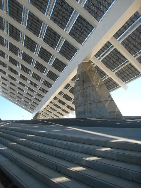 Solar pergola barcelona steel silicon blog - Solar barcelona ...